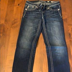 Girl's size 16 MissMe skinny jeans